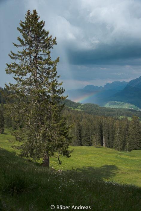 Regenbogen, Region Mythen