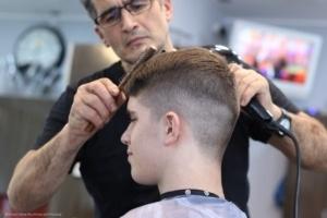 Beim Friseur: ein neuer Haarschnitt und vieles mehr