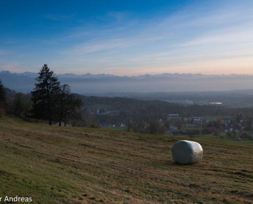 Test Grauverlaufsfilter: Sonnenuntergang Adetswil