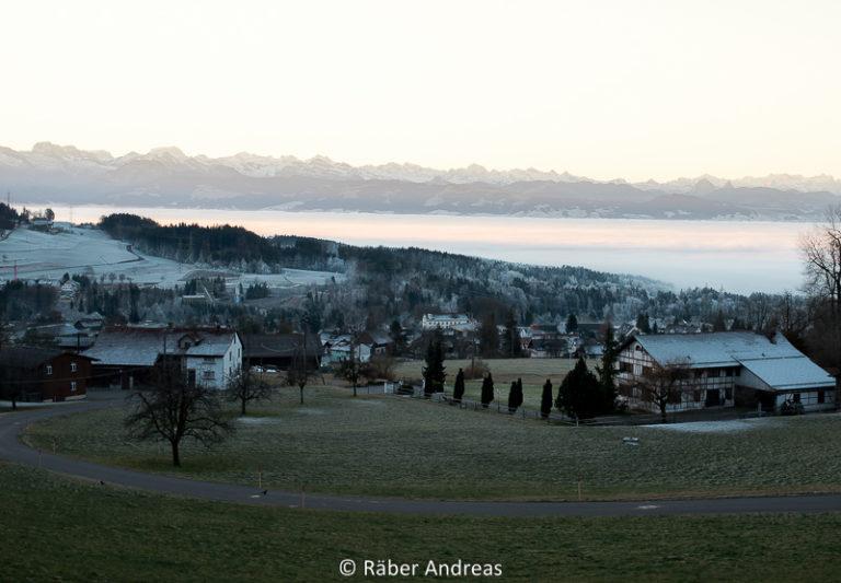 Landschafts- und Naturfotografie: Adetswil, Bäretswil am 1. Januar 2017
