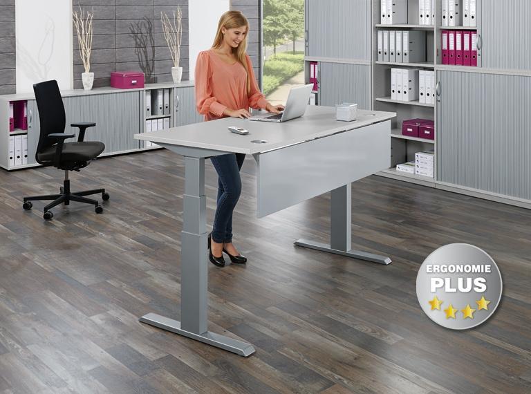 Höhenverstellbare Schreibtische, Stehtische für Firmen